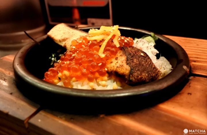 六本木 鮭魚茶泡飯