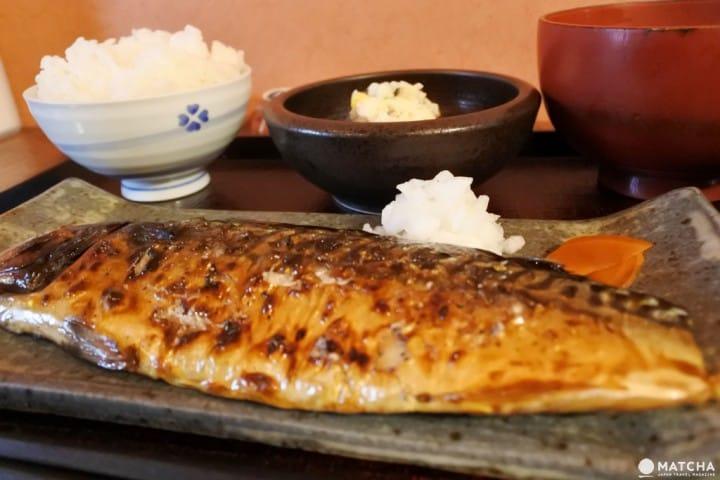 烤魚 日式