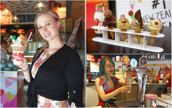 Cookie Time - Edible Cookie Dough, Freak Shakes And Karaoke In Harajuku