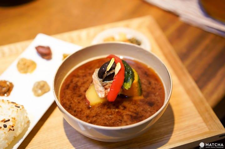 東京佐野味噌湯套餐