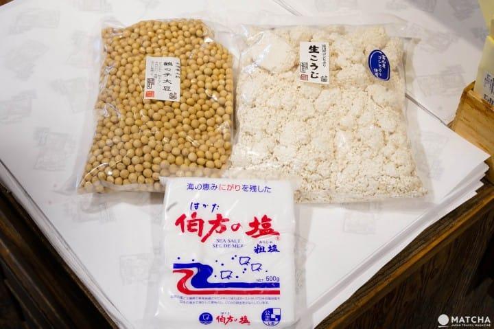 東京佐野味噌材料