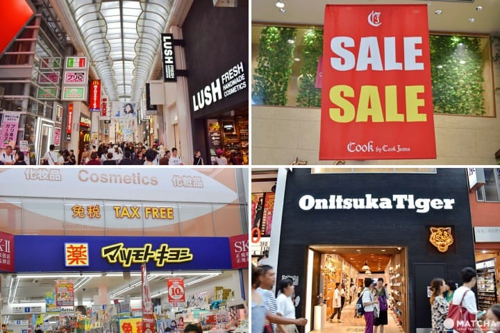 Shinsaibashi Shopping, Osaka – Fashion, Cosmetics, And Local