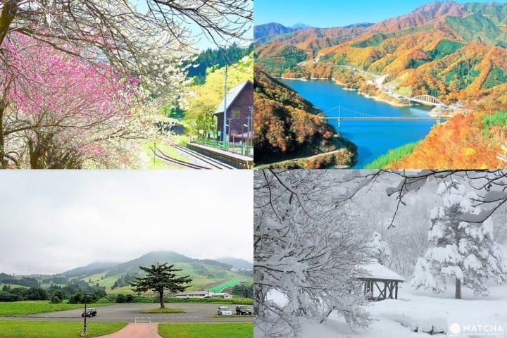 【福井大野】四季都是美丽绝景!当地人推荐的大野自然景点