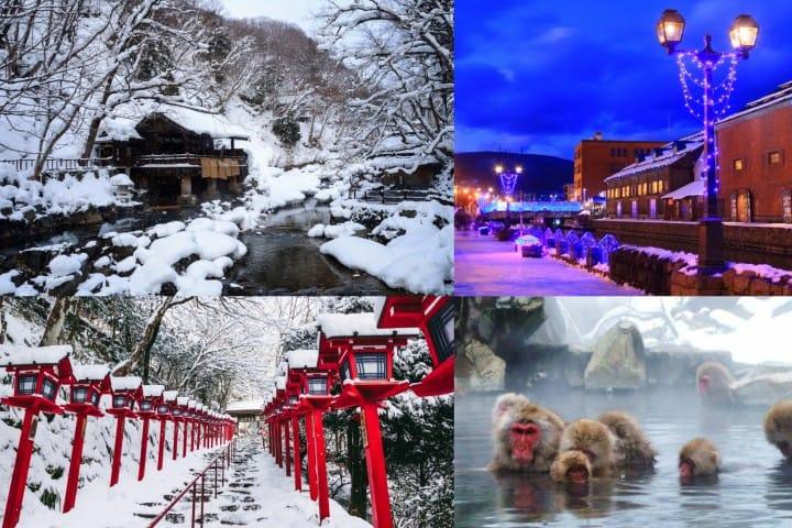 ที่เที่ยวดูหิมะหน้าหนาวในญี่ปุ่น ไปช่วงไหน เมื่อไหร่ดี