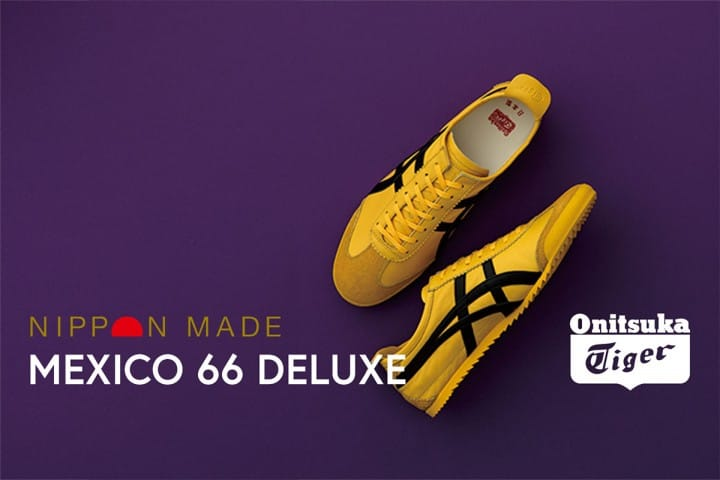 Brand-New Onitsuka Tiger MEXICO 66 DELUXE NIPPON MADE Shoes At A Discount!