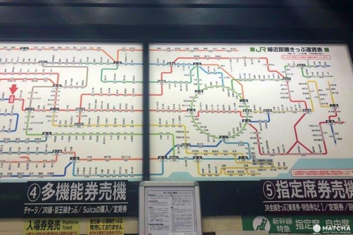 东京铁路攻略:十个旅客常犯的错误以及五大精明绝招