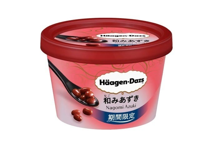 Haagen Dazs迷你杯紅豆