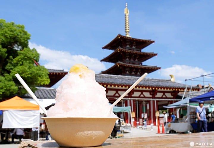 體驗在地大阪人的週末,到四天王寺逛市集!