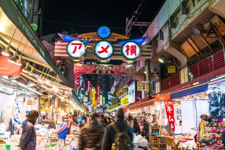 『上野阿美横町』露天市集让你有得吃有得买14选