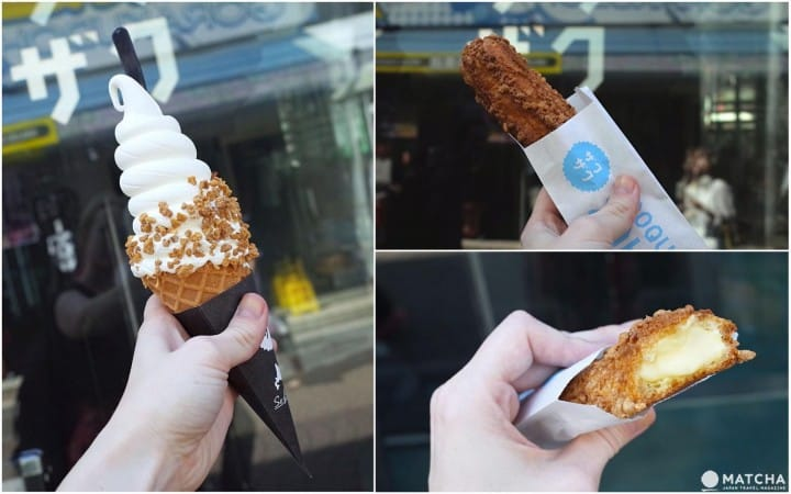 CROQUANT CHOU ZAKUZAKU - Freshly Baked Crunchy Cream Puff Sticks