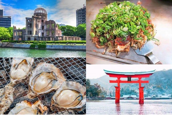 お好み焼も牡蠣も!広島グルメを思いっきり満喫する旅