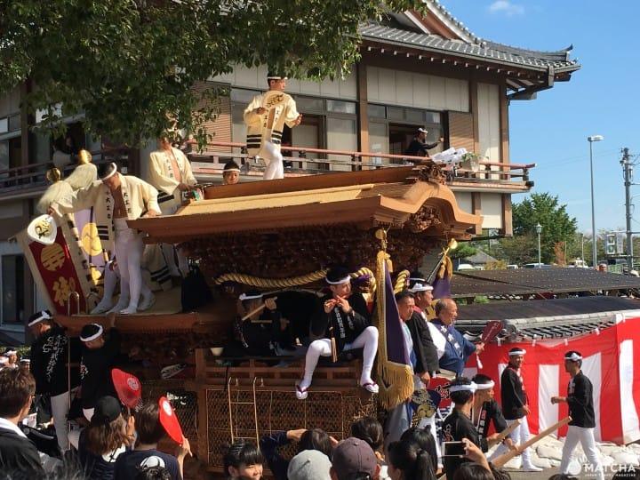 Osaka's Hot and Thrilling Danjiri Festival