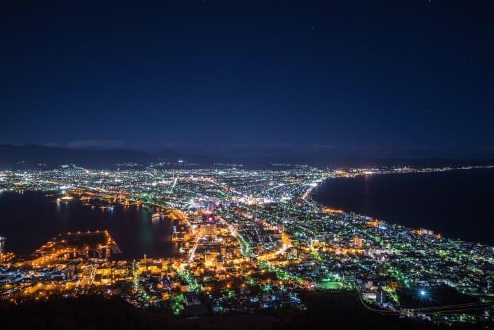 函館纜車 函館山夜景