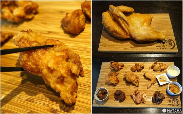 NARUTO KITCHEN - Taste The Best Fried Chicken In Japan!