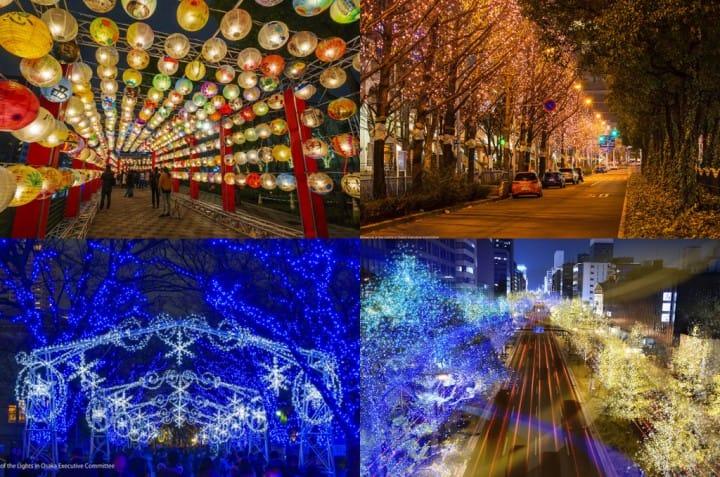 2018年關西「冬季夢幻燈飾」活動資訊總整理