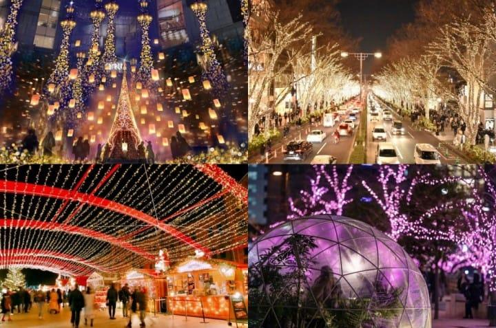 2018-2019年關東東京「冬季夢幻燈飾」