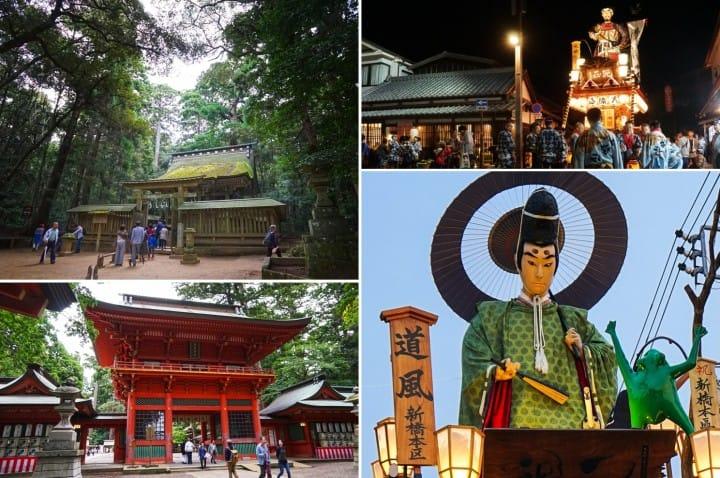เที่ยวหนึ่งวันใกล้โตเกียวที่ คาชิมะจิงกู ศาลเจ้าเก่าแก่ที่สุดในคันโต และงานเทศกาลใหญ่แห่งซาวาระ