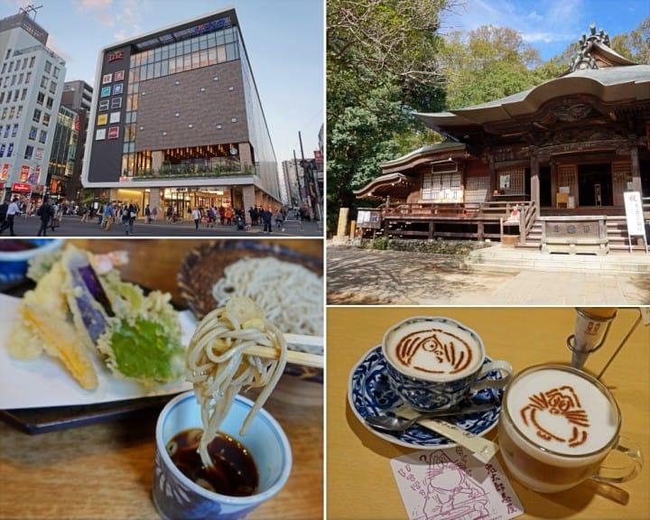 แพลนเที่ยวครึ่งวันในโตเกียว! ไหว้พระอายุพันกว่าปี จิบกาแฟกับภูติผี พร้อมช้อปปิ้ง!