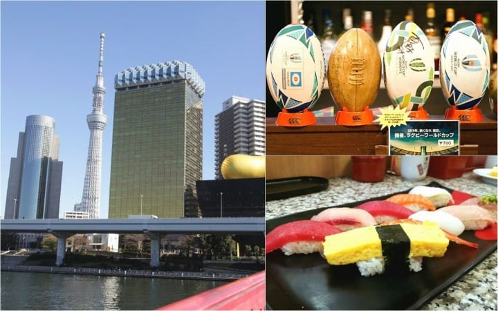 Visiting Tokyo For The Rugby World Cup? A Sightseeing Route For Sports Lovers
