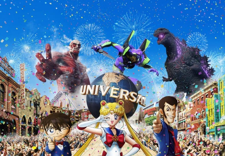日本環球影城Universal Cool Japan 2019