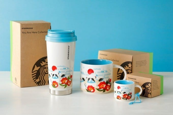 Starbucks 星巴克冬You Are Here Collection