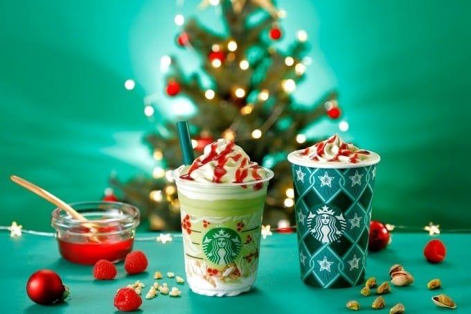 Starbucks日本星巴克 開心果聖誕樹