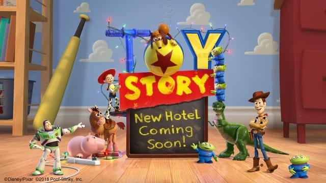 東京迪士尼 玩具總動員飯店