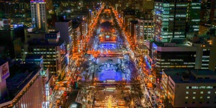 札幌白色點燈燈飾活動3