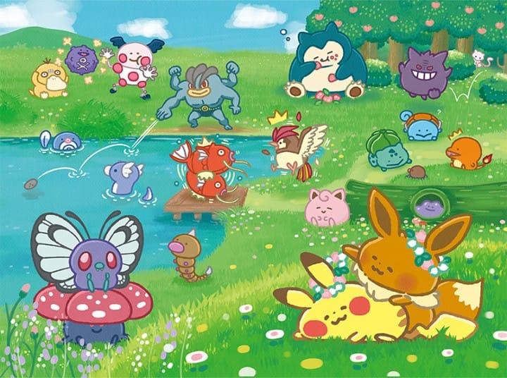 Pokémon Yurutto all