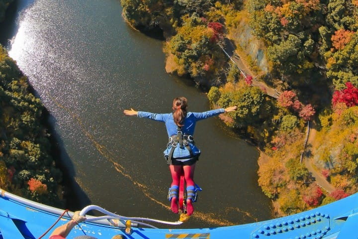 Bungee Among Ibaraki's Fall Colors! An Exciting  Day Trip From Tokyo