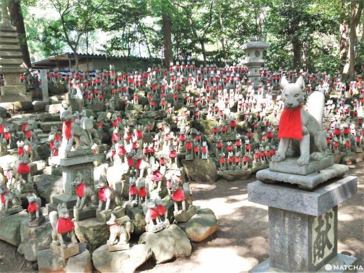 日本寺院神社的神圣动物:狐狸丶牛丶猿猴等