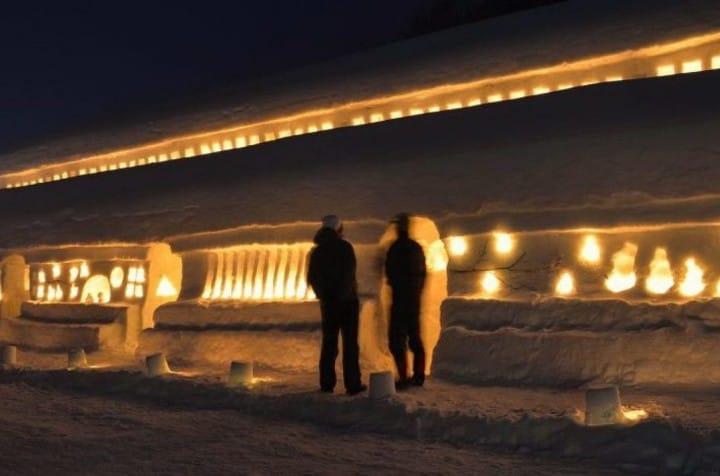 欣赏雪中美景旅行新提案 自助游山形