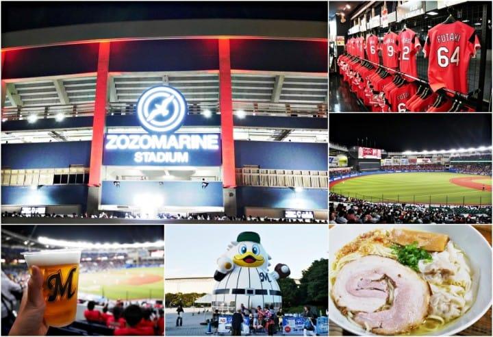 【千葉】大口吃下低調的拉麵王國,體驗日本職棒賽的超high熱情!