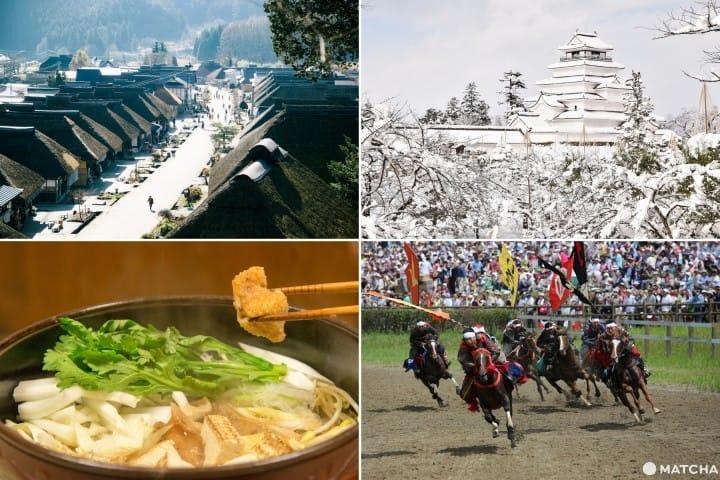 完美体验日本多样魅力的福岛行—福岛欢乐体验10选