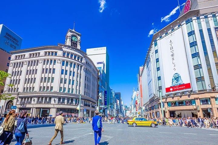 東京・銀座の楽しみ方〜ショッピング・寿司・スイーツからホテルまで〜