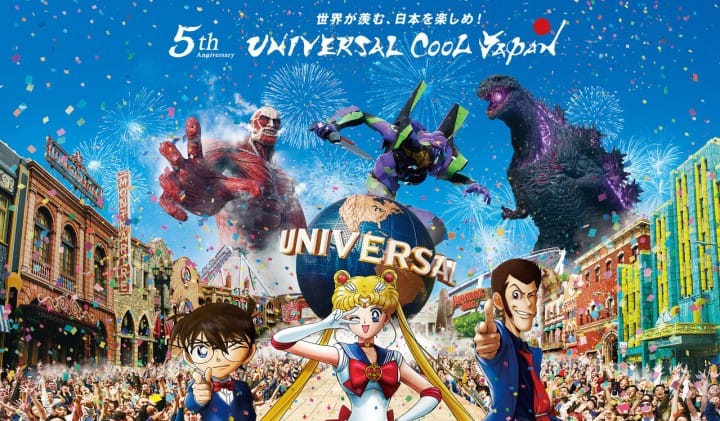 Universal Studios Meet Your Anime Heroes At Universal Cool Japan