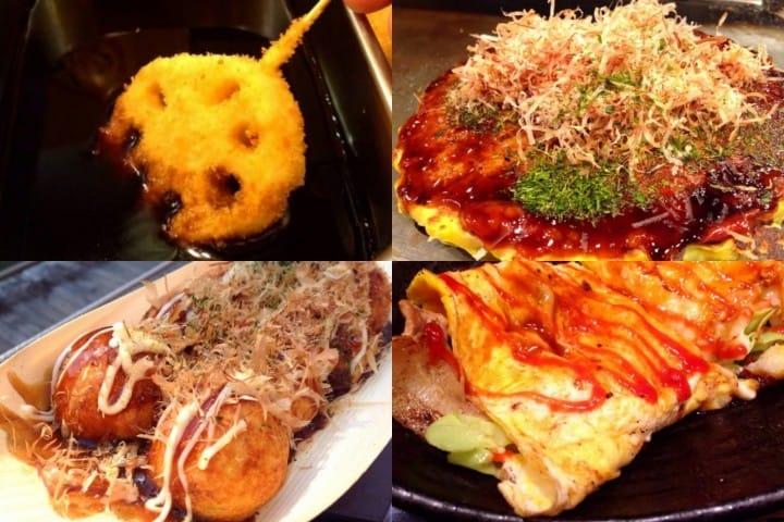 ของอร่อยเมนูเด็ดประจำโอซาก้า (Osaka)