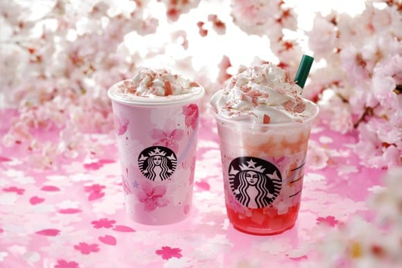 Starbucks Japan SAKURAFUL Latte, Frappuccino And Goods - Spring To Go