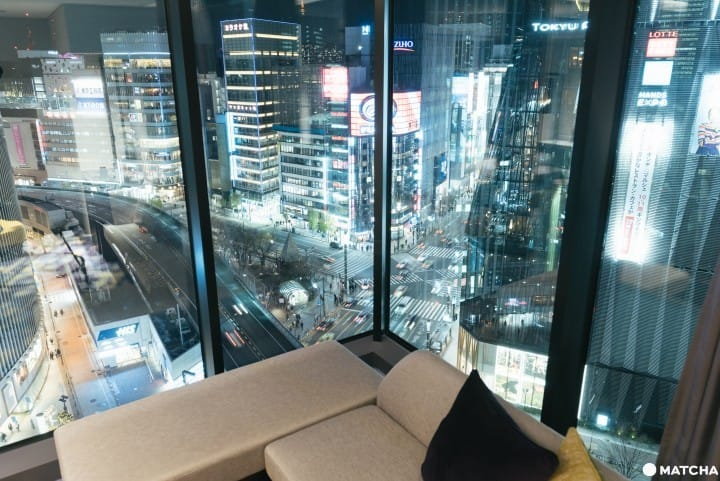 「THE GATE HOTEL 東京 by HULIC」房內賞銀座夜景,度過美好住宿時光