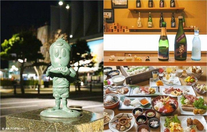 鳥取・境港でマンガ『ゲゲゲの鬼太郎』の世界と海鮮、酒を楽しむ1日旅