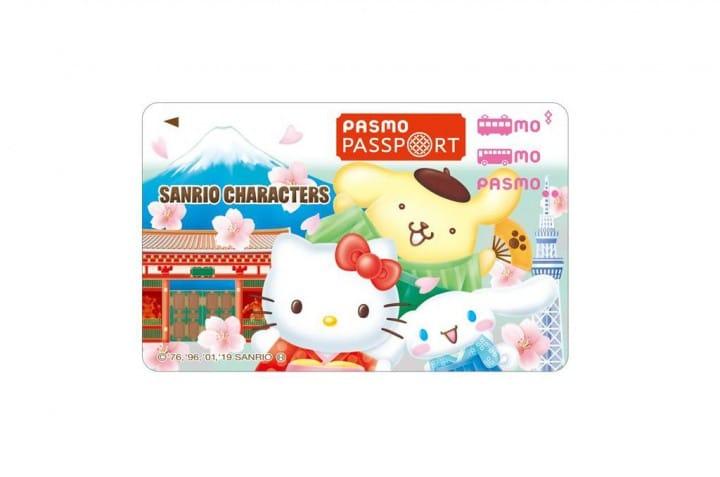 PASMO PASSPORT บัตร IC Card ลาย SANRIO