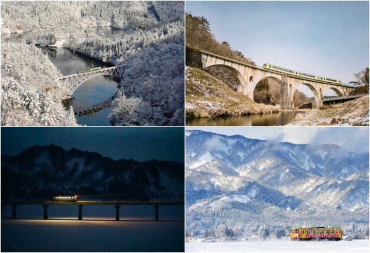 A Sight To Behold! 4 Dreamworld Winter Railroads In Tohoku