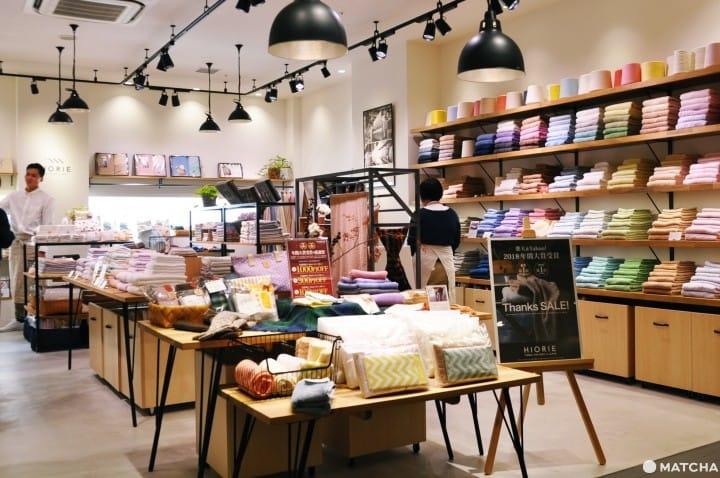 【大阪】樂天市場人氣名店「hiorie」毛巾唯一實體店,超划算日製毛巾讓你買到手軟