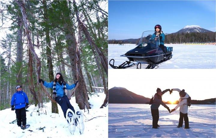 【北海道】必見!冬の阿寒湖で雪、森、湖、そして火山が織りなす別世界