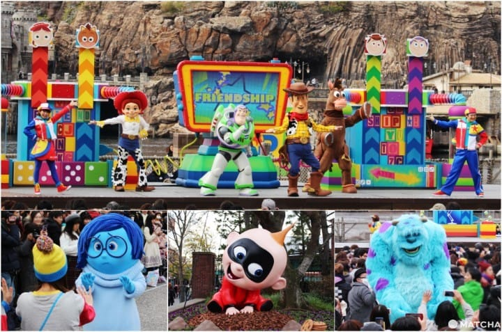 A Special Early Spring 2019 Event! Tokyo DisneySea's Pixar Playtime