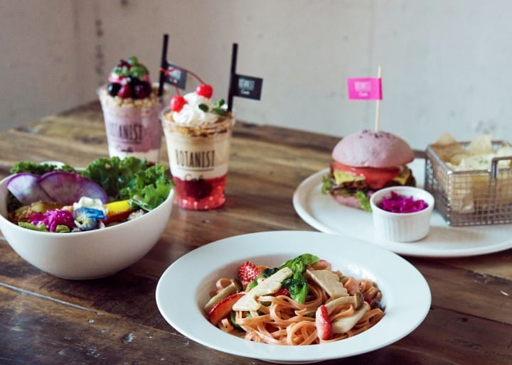 Feel Spring With The Cherry Blossom Menu At BOTANIST cafe, Harajuku