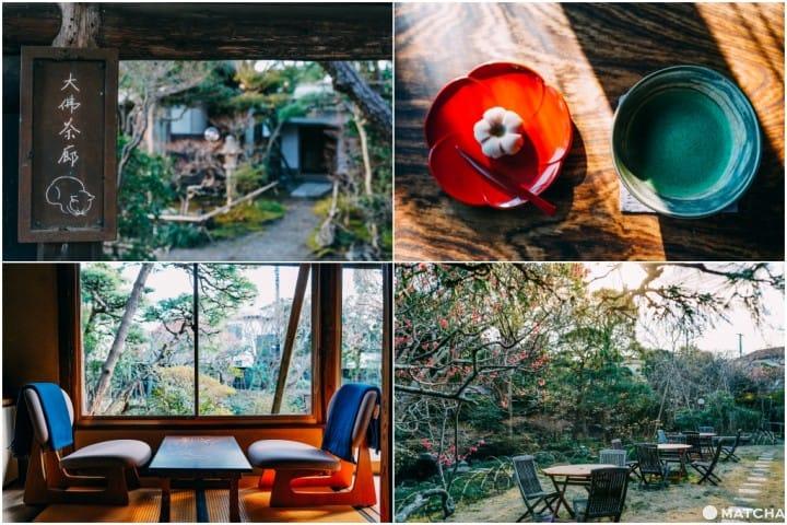 """【鎌仓】转个弯让你时光倒转!小巷弄的私藏咖啡厅""""大佛茶廊"""""""