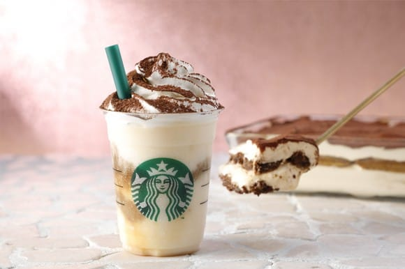 Classic Tiramisu Frappuccino At Starbucks Japan