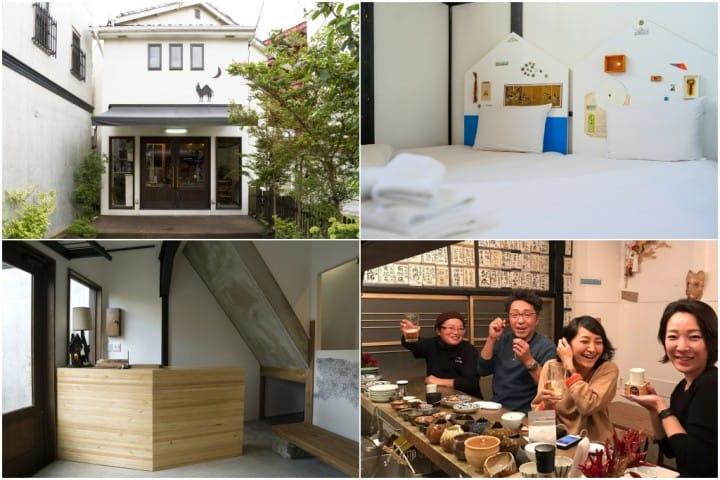 【鎌倉】一下樓就有美食與邂逅的溫馨旅舍「Hostel YUIGAHAMA + SOBA BAR」