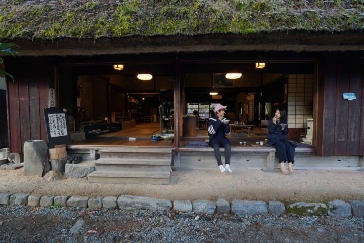 【京都】 靠布丁与牛奶拚人气的茅葺部落 美山